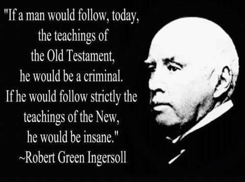 Robert G. Ingersoll on the Bible